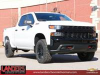 Summit White 2019 Chevrolet Silverado 1500 Custom Trail