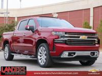 Cajun Red Tintcoat 2019 Chevrolet Silverado 1500 High