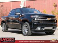 Black 2019 Chevrolet Silverado 1500 High Country 4WD