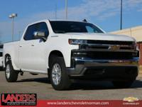 Summit White 2019 Chevrolet Silverado 1500 LT RWD