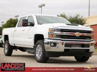 New Price! Summit White 2019 Chevrolet Silverado 2500HD