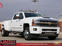 Summit White 2019 Chevrolet Silverado 3500HD High