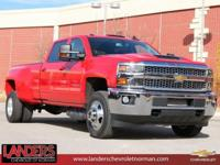 Red Hot 2019 Chevrolet Silverado 3500HD LT 4WD Allison