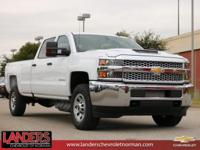 Summit White 2019 Chevrolet Silverado 3500HD Work Truck