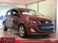 Passion Fruit Metallic 2019 Chevrolet Spark LS FWD