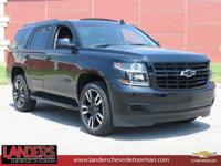 Black 2019 Chevrolet Tahoe LT RWD 6-Speed Automatic