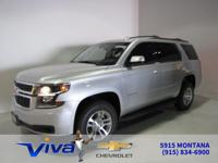 Silver Ice Metallic 2019 Chevrolet Tahoe LT RWD 6-Speed