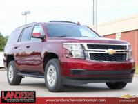 Siren Red Tintcoat 2019 Chevrolet Tahoe LT RWD 6-Speed