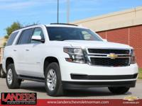 Summit White 2019 Chevrolet Tahoe LT RWD 6-Speed