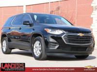 Mosaic Black Metallic 2019 Chevrolet Traverse LS FWD