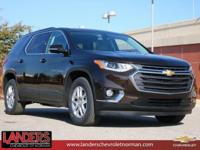 Havana Brown Metallic 2019 Chevrolet Traverse LT Cloth
