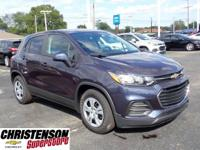 Recent Arrival! 2019 Chevrolet Trax LS Blue Metallic