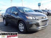 Recent Arrival! 2019 Chevrolet Trax LS Gray Metallic