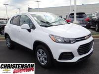 2019 Chevrolet Trax LS Summit White FWD 6-Speed