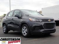 Recent Arrival! 2019 Chevrolet Trax LS Nightfall Gray