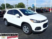 Recent Arrival! 2019 Chevrolet Trax LS Summit White FWD