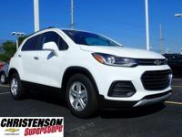 2019+Chevrolet+Trax+LT+Summit+White+FWD+6-Speed+Automat