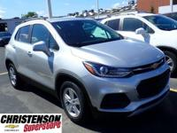 2019+Chevrolet+Trax+LT+Silver+Ice+Metallic+FWD+6-Speed+