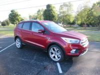 2019 FORD ESCAPE TITANIUM 4X4, RUBY RED METALLIC TINTED