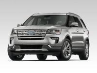 2019 Ford Explorer Platinum in White Platinum Metallic