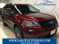 Ruby Red Metallic Tinted Clearcoat 2019 Ford Explorer