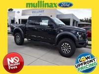 Black Metallic 2019 Ford F-150 4D SuperCrew Raptor