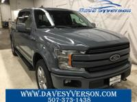 Abyss Gray Metallic 2019 Ford F-150 Lariat 4WD 10-Speed
