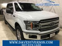 Oxford White 2019 Ford F-150 XLT 4WD 10-Speed EcoBoost