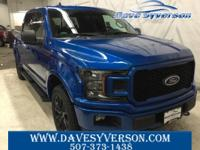 Velocity Blue Metallic 2019 Ford F-150 XLT 4WD 10-Speed