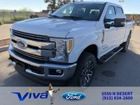 Oxford White 2019 Ford F-250SD Lariat 4WD 6-Speed