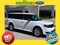 $3,068 off MSRP! Oxford White 2019 Ford Flex 4D Sport