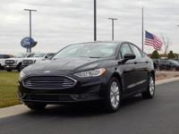 Black 2019 Ford Fusion SE FWD 6-Speed Automatic