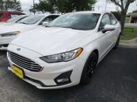 Drive with standard confidence in the 2019 Ford Fusion.