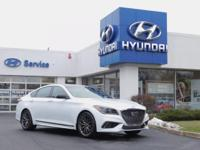 This 2019 Genesis G80 3.3T Sport is proudly offered by