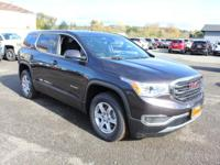 2019 GMC Acadia SLE-1 FWD, Jet Black Cloth. FWD 6-Speed