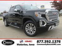 Onyx Black 2019 GMC Sierra 1500 Denali 4WD 8-Speed