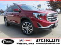 Quartz 2019 GMC Terrain SLT AWD 9-Speed Automatic 2.0L