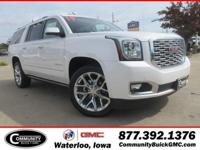 White Frost 2019 GMC Yukon XL Denali 4WD 10-Speed