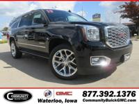 Onyx Black 2019 GMC Yukon XL Denali 4WD 10-Speed