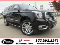 Onyx Black 2019 GMC Yukon XL SLT 4WD 6-Speed Automatic