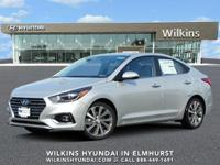 Silver Metallic 2019 Hyundai Accent Limited FWD