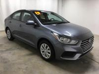 Urban Gray Metallic 2019 Hyundai Accent SE FWD 6-Speed