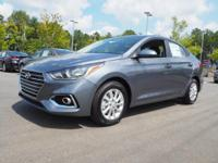38/28 Highway/City MPG  Gray 2019 Hyundai Accent SEL