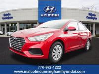 This Pomegranate Red 2019 Hyundai Accent SE might be