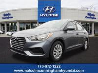 This Urban Gray 2019 Hyundai Accent SE might be just