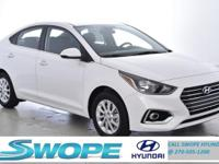 Recent Arrival! This 2019 Hyundai Accent SEL in Frost