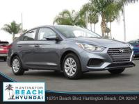 2019 Hyundai Accent 4D Sedan Urban Gray Metallic 1.6L