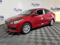 2019 Hyundai Red Metallic Accent 1.6L 4-Cylinder SE