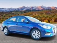. EPA 37 MPG Hwy/28 MPG City! ADMIRAL BLUE exterior and