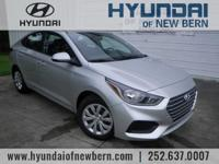 Recent Arrival!  Silver 2019 Hyundai Accent  Options: